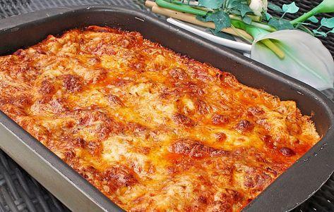 Béchamel-Hackfleisch-Lasagne von Kochprofie | Chefkoch #beefsteakrecipe