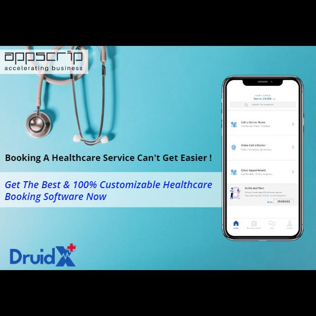 💉Uber for Doctors & On-Demand Healthcare Software Solution | Druidx