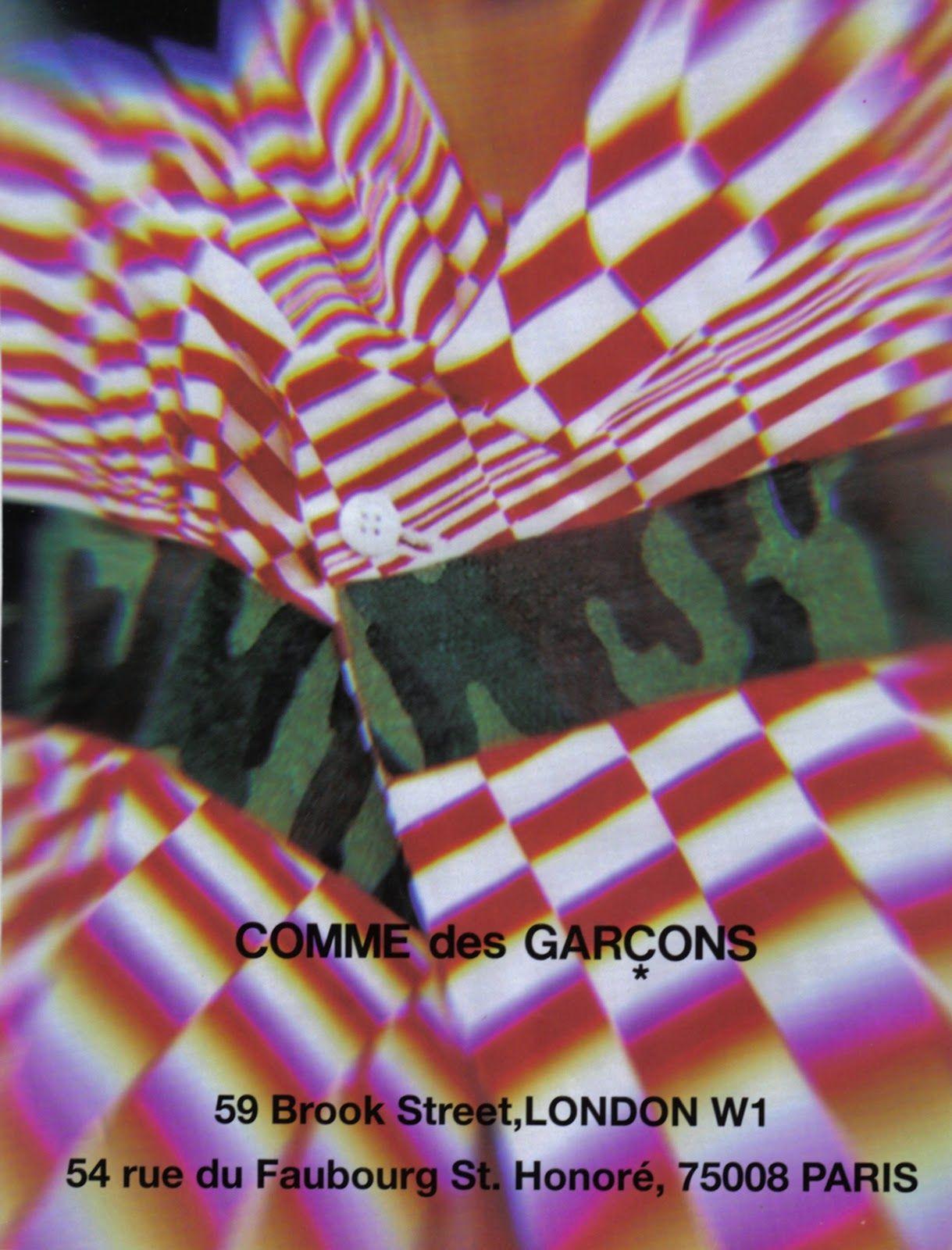 Comme Des Garcon Ad 5 Garcons Print Archive