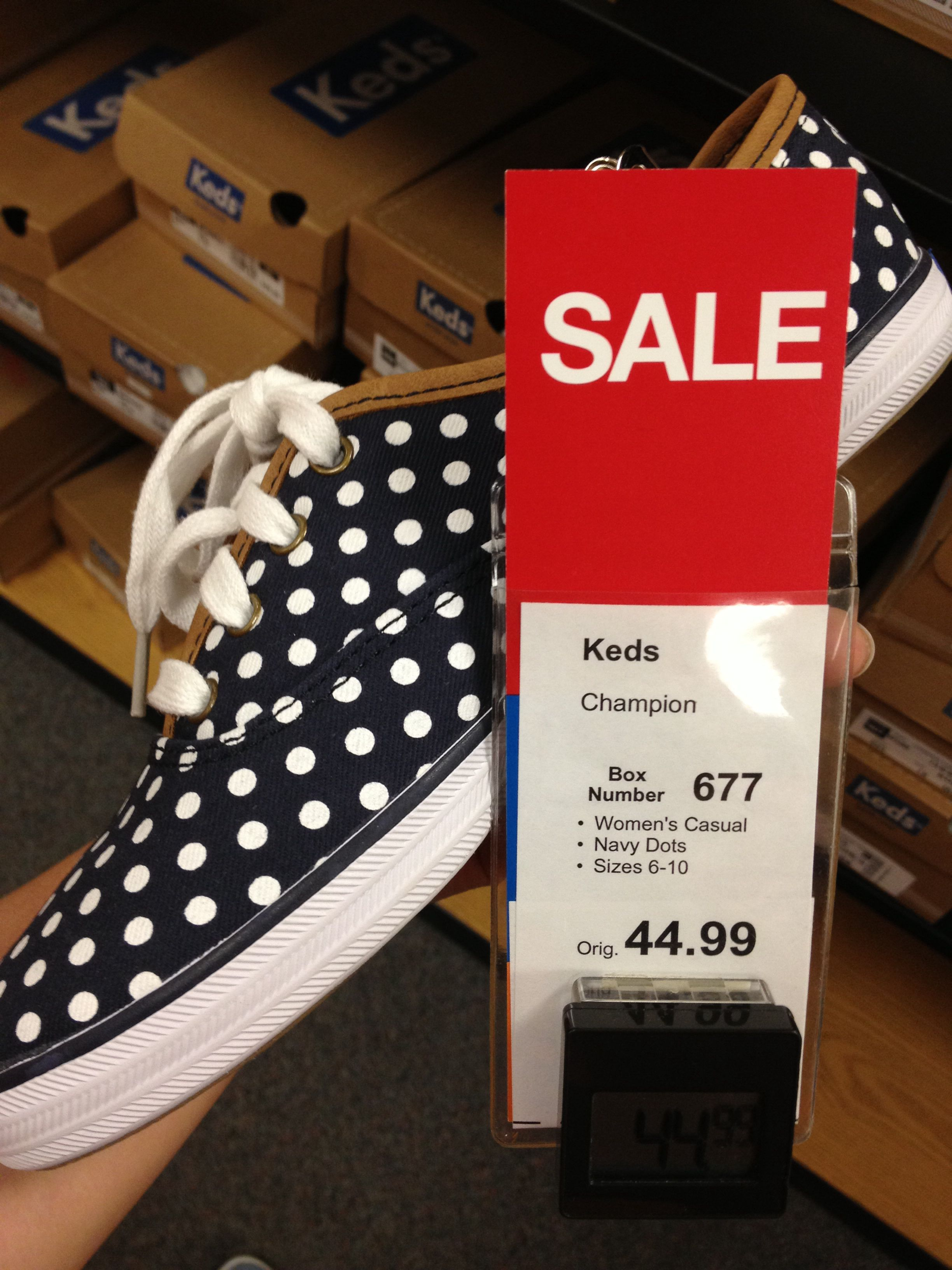 Love these keds: kohls or Payless/size