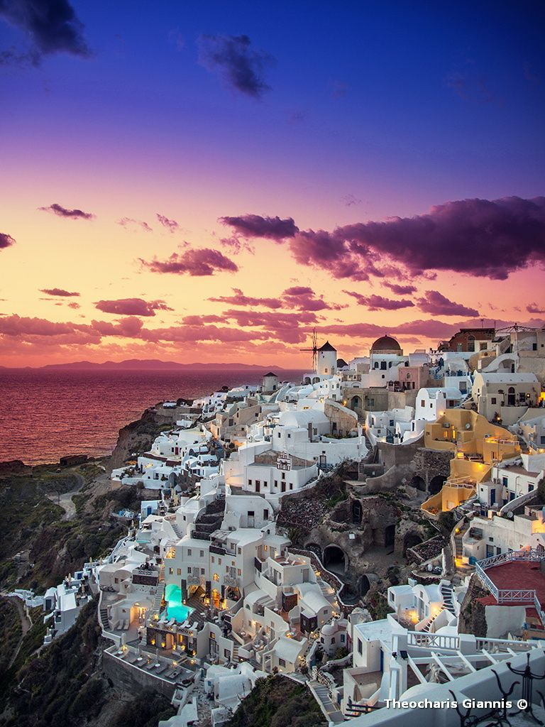 Photograph Oia Sunset by Giannis Theocharis on 500px