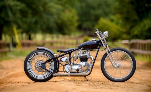 custom bobber motorcycle frames. Interesting Frames Triumph Unit 750 650 Custom Bobber Cafe Chopper Hardtail Frame Vintage  Engine TR  EBay Inside Motorcycle Frames