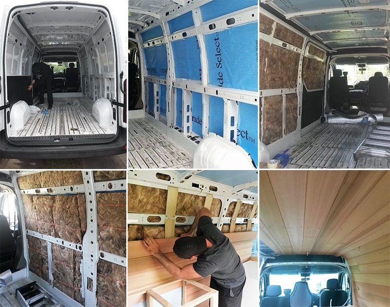 Wohnmobil Fußboden Dämmen ~ Kastenwagen richtig dämmen autoausbau campingbus kastenwagen