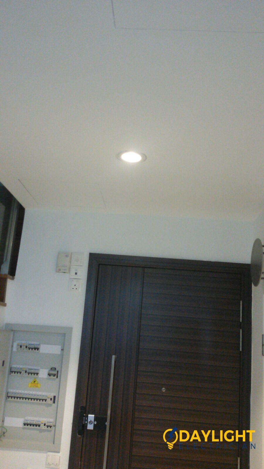 Install Led Ceiling Downlight False Ceiling Electrician Singapore Apartment Sims Ave Electrician Singapore Recommended Electrician Services Singapore Led Ceiling False Ceiling Electrician Services