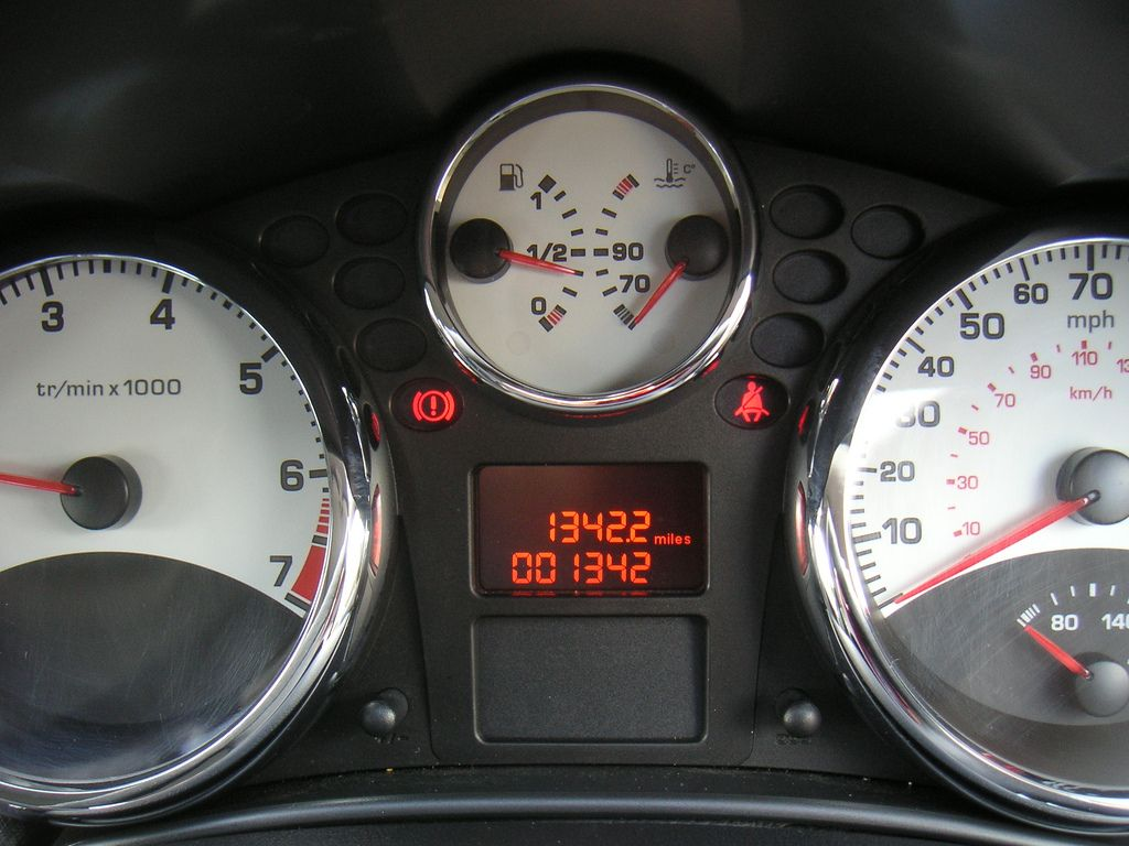 Peugeot 207 Dashboard Peugeot Vehicles Vehicle Gauge