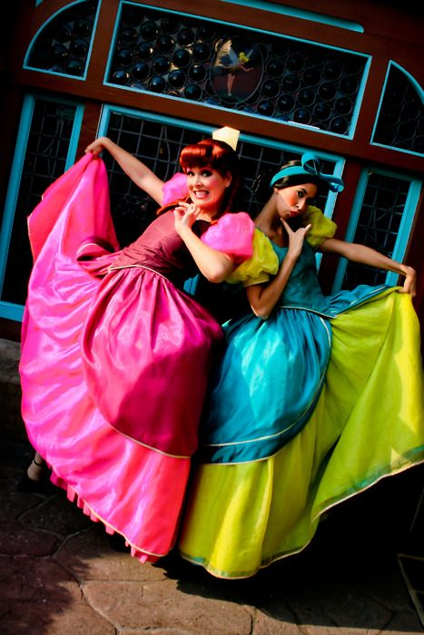 The Wicked Stepsisters Mac Met Them The Last Time We Were There