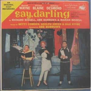Richard Bissell, Abe Burrows, Marian Bissell - Say, Darling: buy LP, Album at Discogs