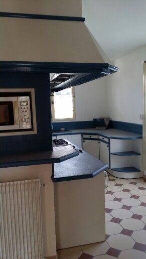 My cuisine, lu0027autre côté peintures et béton ciré Eleonore Deco