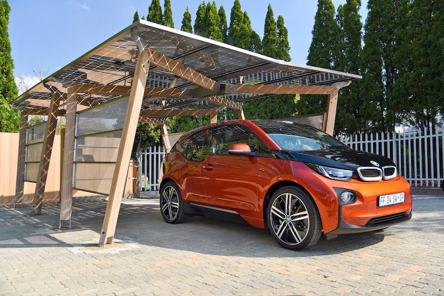 On Friday BMW South Africa launched the first solar