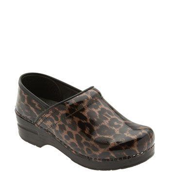ee6990e6591 Dansko 'Professional' Leopard Print Clog | Animal Prints!! My ...