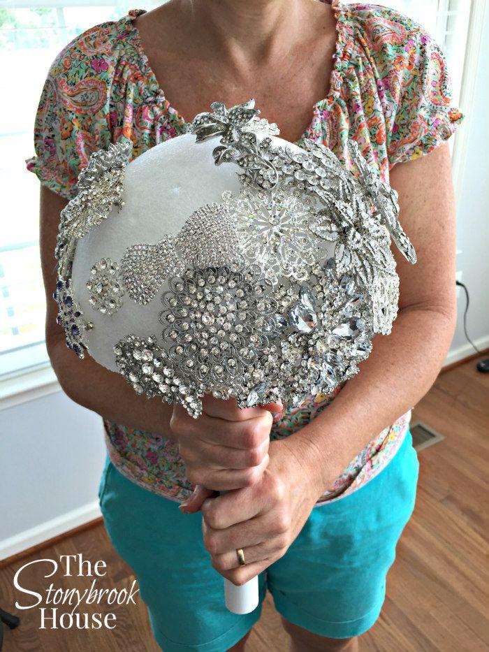 How To Make A Beautiful Brooch Bouquet Wedding brooch
