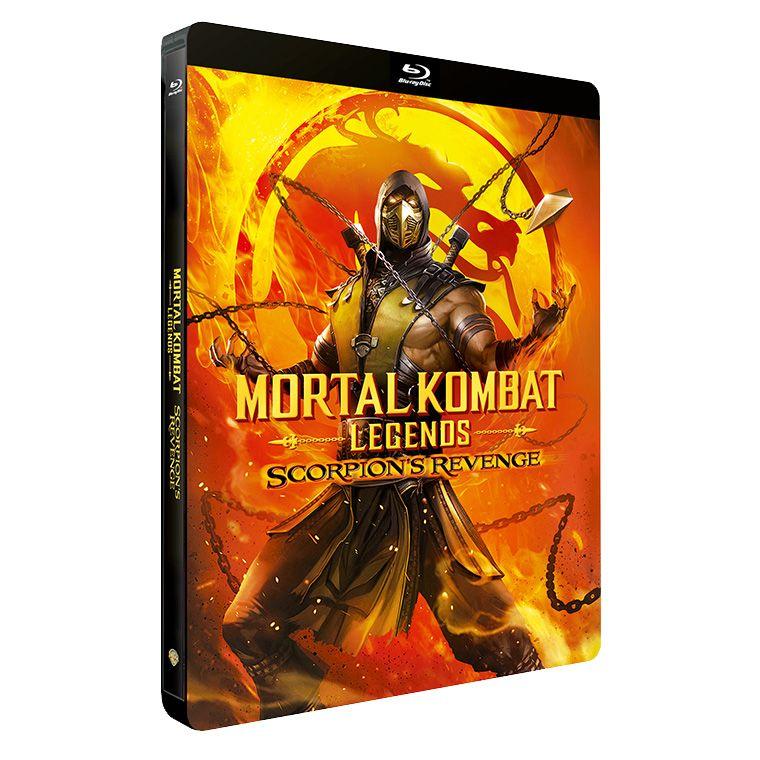 Mortal kombat legends scorpions revenge steelbook en