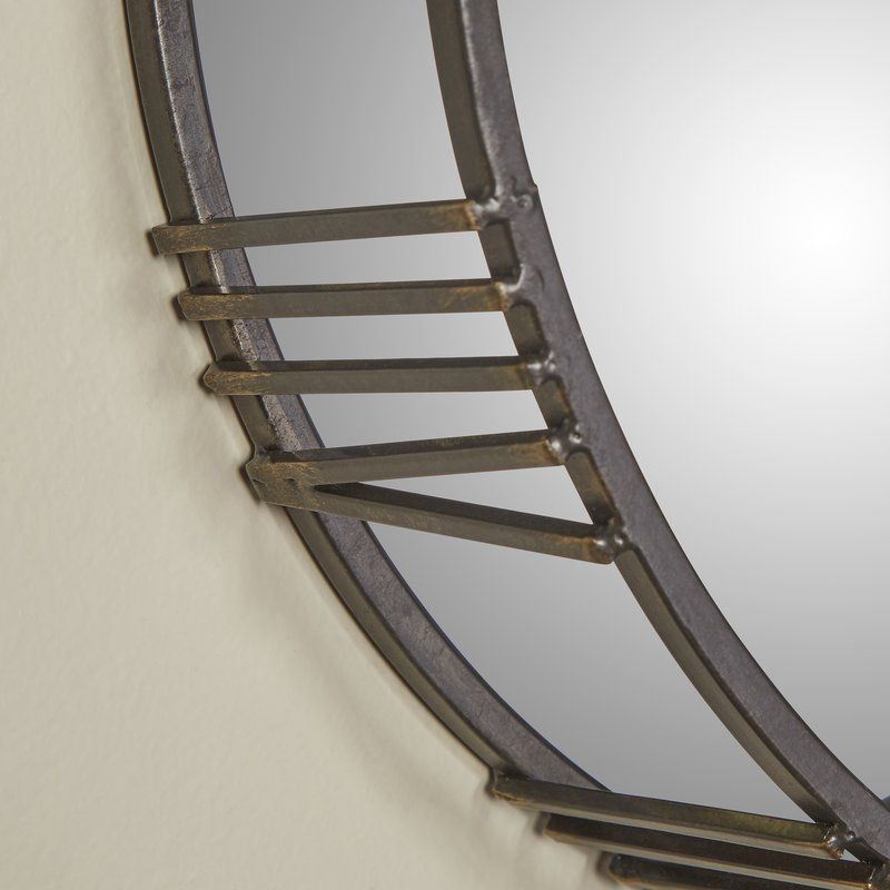 3 Piece Roman Time Mirror Wall Décor Set | Mirror wall ...
