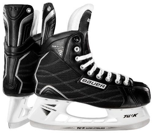 Bauer Nexus 200 Ice Skates Junior By Bauer 59 99 The Nexus 200 Ice Skates Represent A Great Entry Level Skate These Skates Featur Skate Hockey Ice Hockey