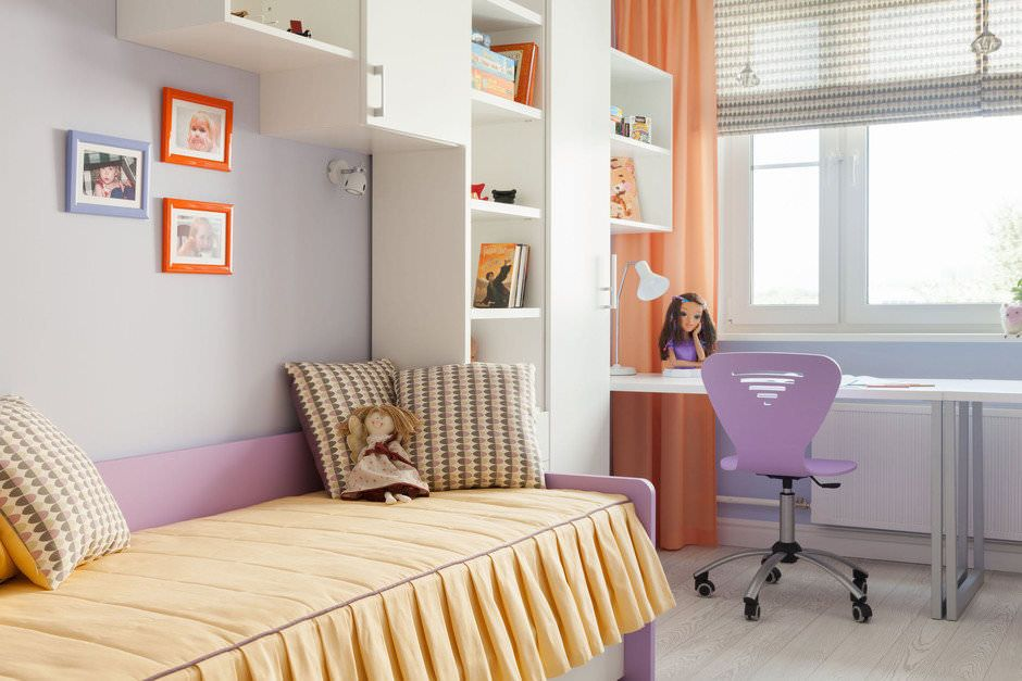 цвет детской мебели