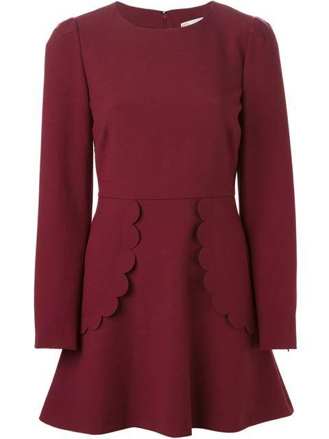 5b3060a2831 Red Valentino Vestido Con Detalles Festoneados - Russo Capri - Farfetch.com Red  Valentino Dress