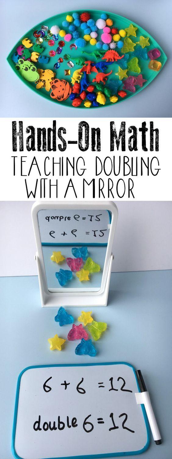 Hands-on Math ~ Teaching Doubling | Pinterest | Maths, Activities ...
