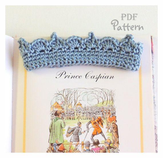 PDF CROCHET PATTERN, Baby Crown Crochet Pattern for Boy or Girl, Lots of Photos, Baby Tiara, Digital Download, Make it Yourself, Pattern #crownscrocheted