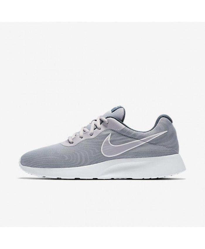 Nike Tanjun Premium Wolf Grey Armory Navy Still Blue Wolf Grey 876899-003