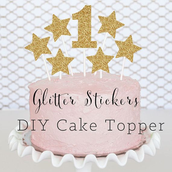Happy Birthday Cake Topper Baby Shower Miniature Cookie Party Supplies Topping