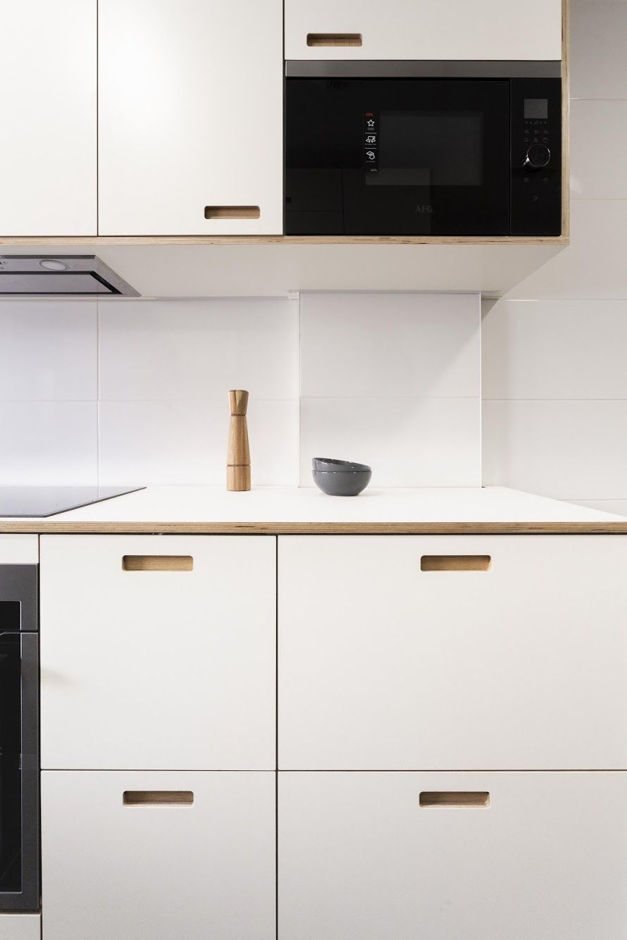 Cubro Customized Ikea Kitchen Fronts Muebles De Madera Contrachapada Cocina Ikea Artilugios De Cocina