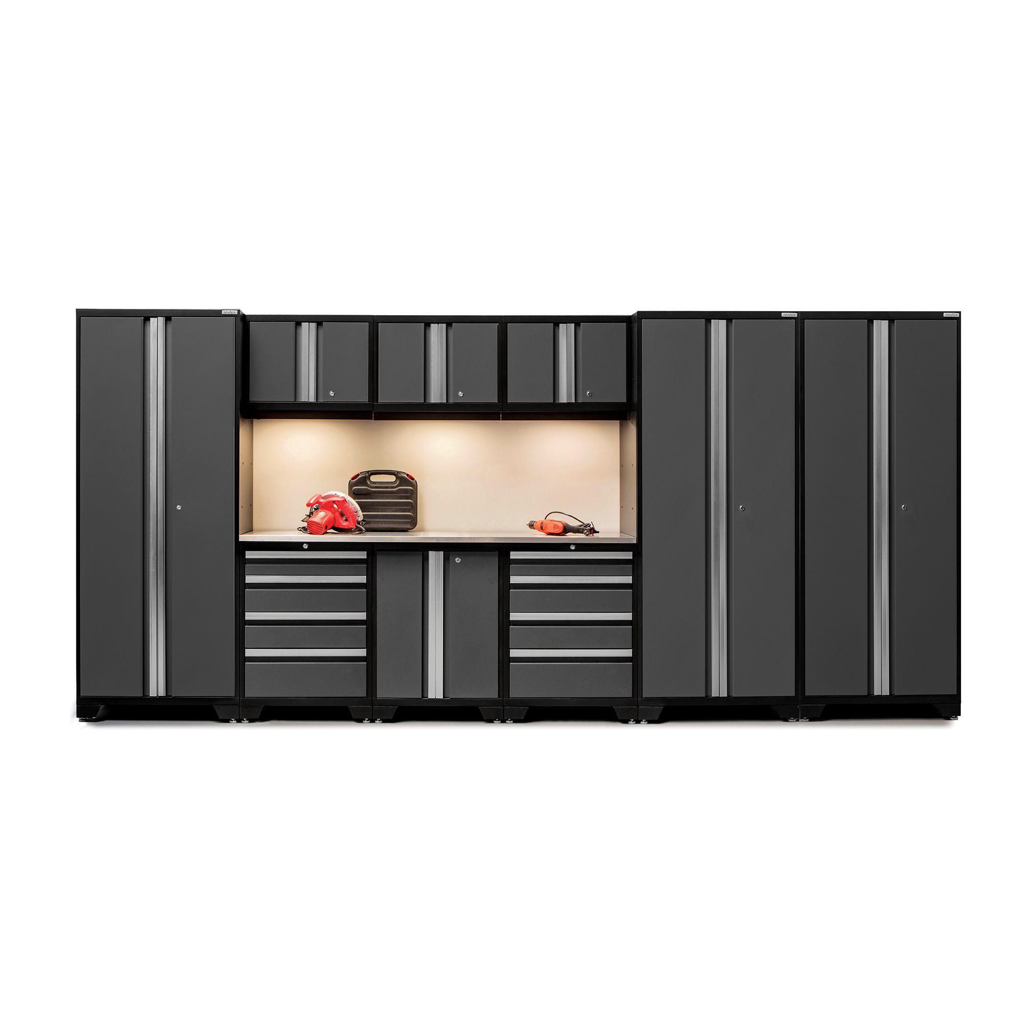 NewAge Products Bold Series Steel/Stainless Steel 10-piece Locker Set (