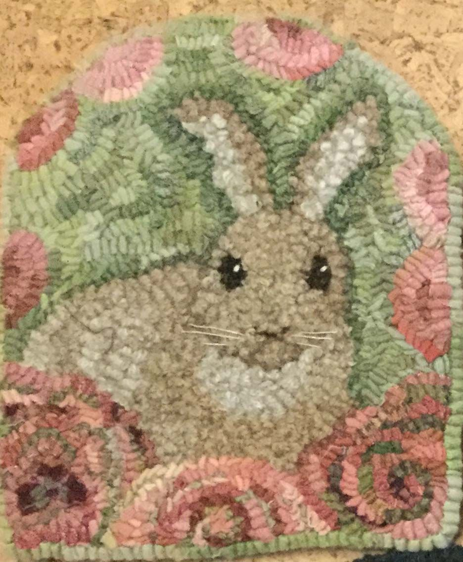 Spring Love By Lin Wells Pattern Only Or Complete Rug Hooking Kit