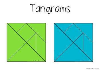 graphic about Printable Tangram Pieces identify Printable Tangram Puzzles, Behaviors, Services and Comparable