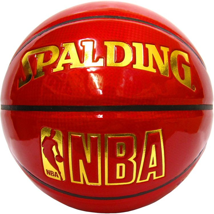 NBA SPALDING 74-509Z(RED/GOLD)