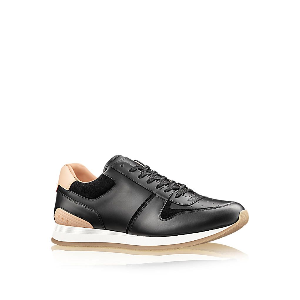 Louis Vuitton Abbesses Sneaker $880 / 650 EUR. This stylish update of a  classic running