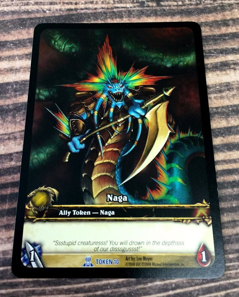 MINT Card WoW TCG MOROES World of Warcraft