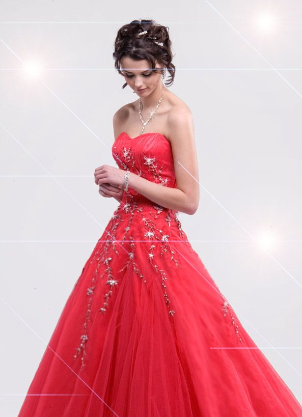 1000  images about Gorgeous Red Dresses on Pinterest | Scarlet ...