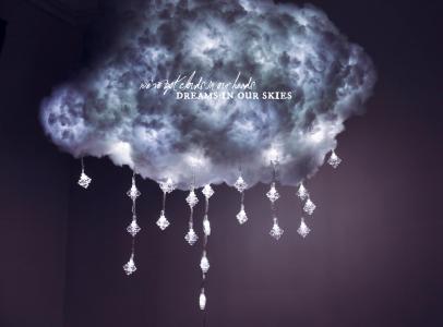 Wolkenlampe Diy Wolkenlampe Diy Cloud Lamp Lampe Selber Basteln