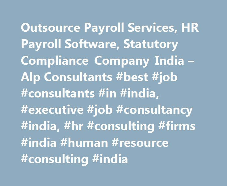 Outsource Payroll Services, HR Payroll Software, Statutory