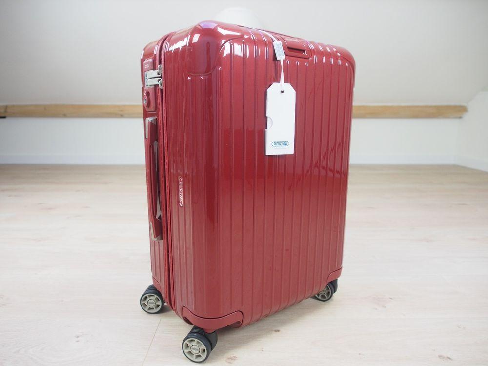 Rimowa SALSA DELUXE CABIN MULTIWHEEL® 35 L Polycarbonate Trolley NEW  83053534