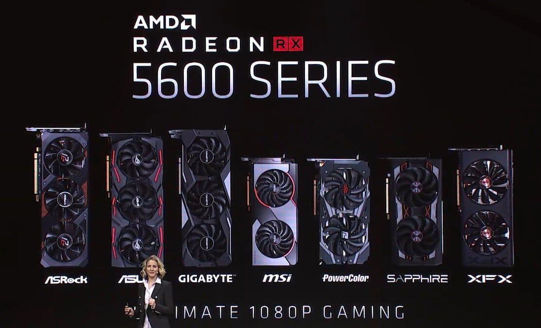 Voici La Amd Radeon Rx 5600 Xt Une Nouvelle Carte Graphique