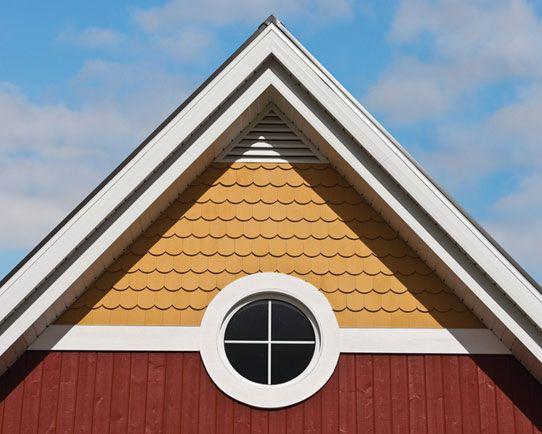 Maibec Wood Siding Used V Joint Siding Victorian Shingles And White Mouldings Maibec Cedar