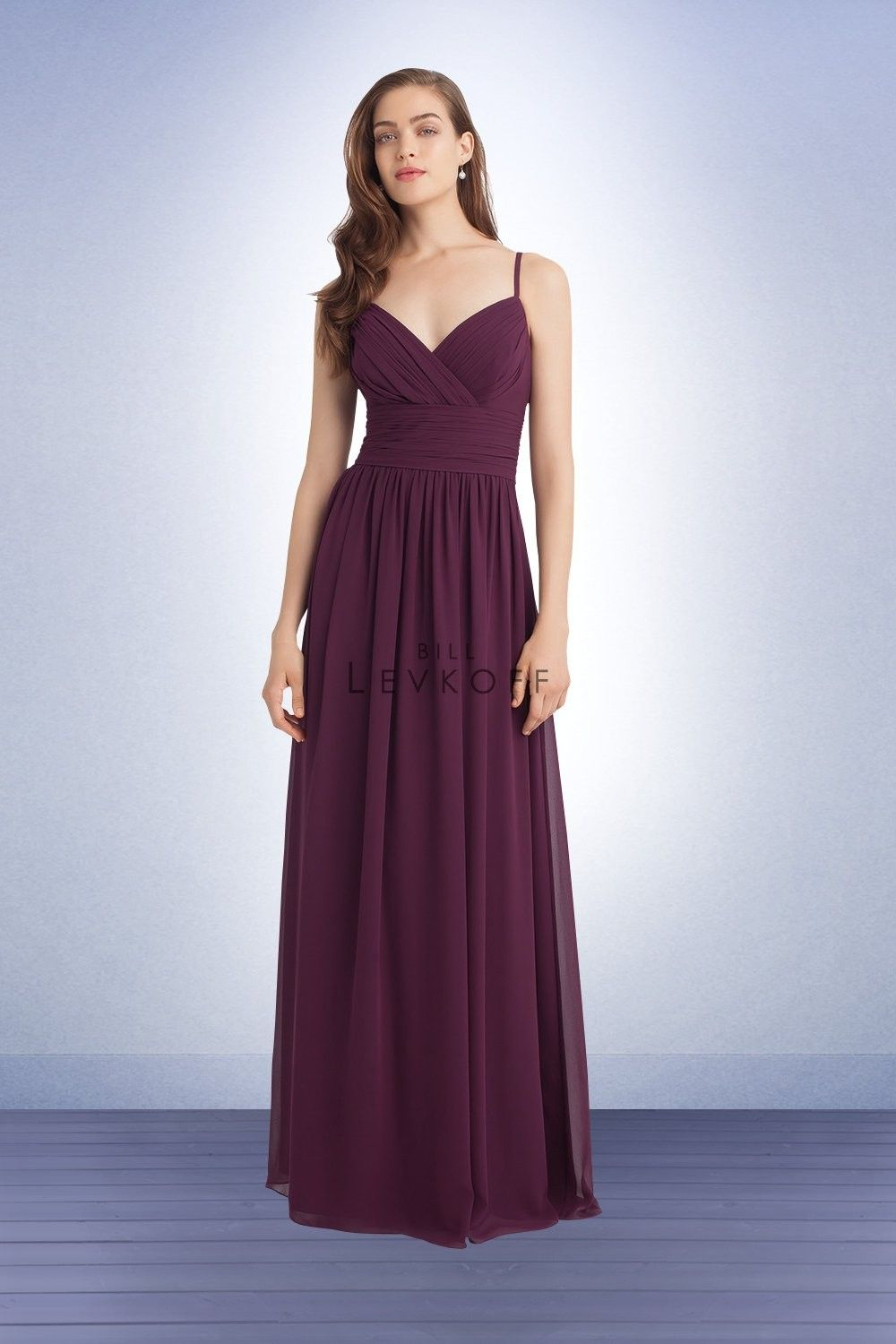 Bill levkoff bridesmaids dress style bridesmaids perfect