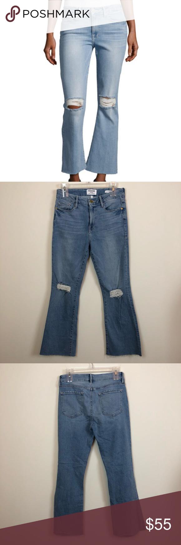 b418816e2f7f3 Frame Denim Le Crop Mini Boot Jeans Size 28 Good condition. Le Crop mini  boot