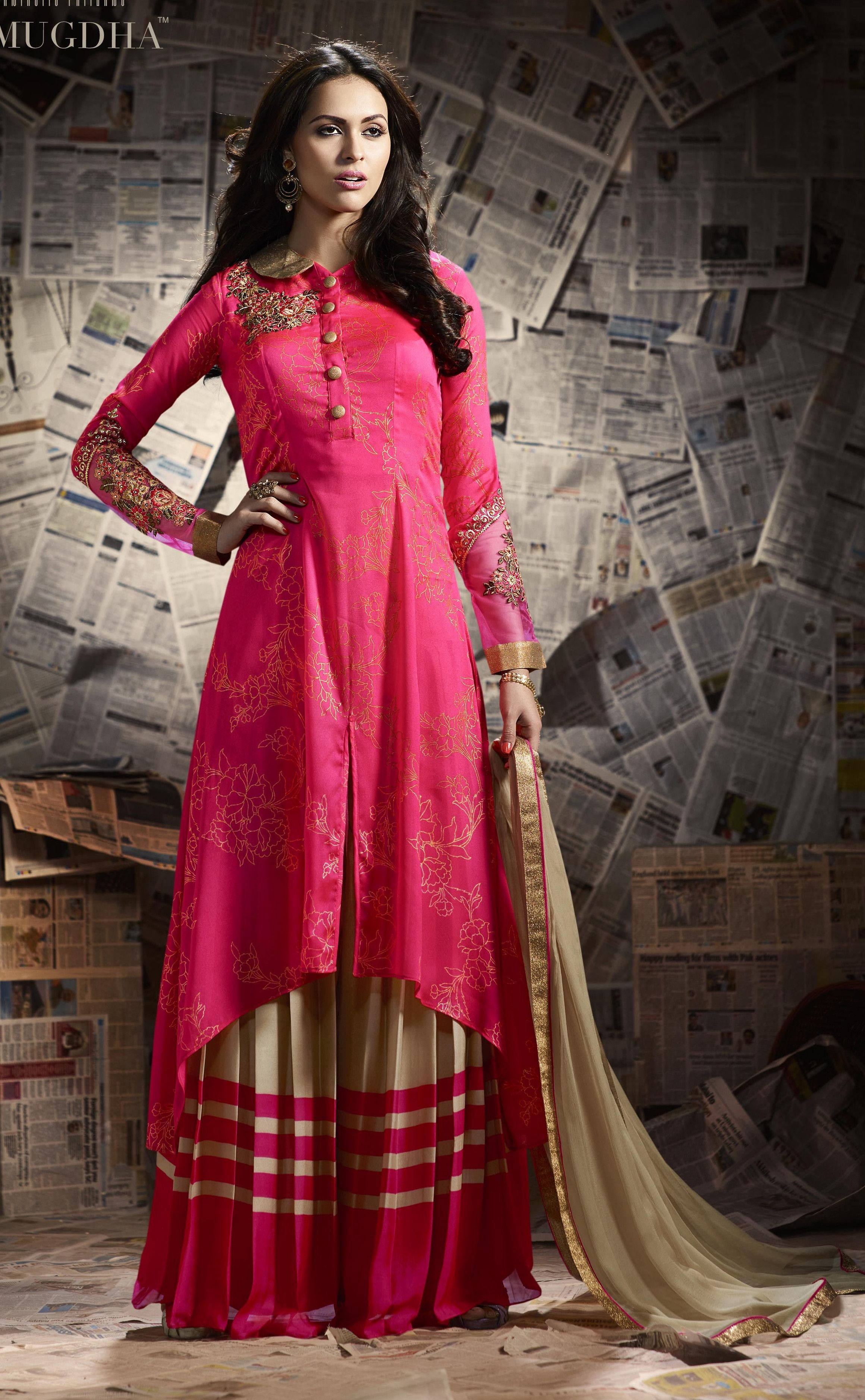 4d22211860 ... #WorldwideShipping #online #shopping Shop on  international.banglewale.com,Designer Indian Dresses,gowns,lehenga and  sarees , Buy Online in USD 42.10