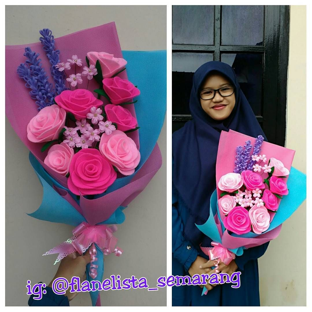 Pin di Felt Flowers Semarang