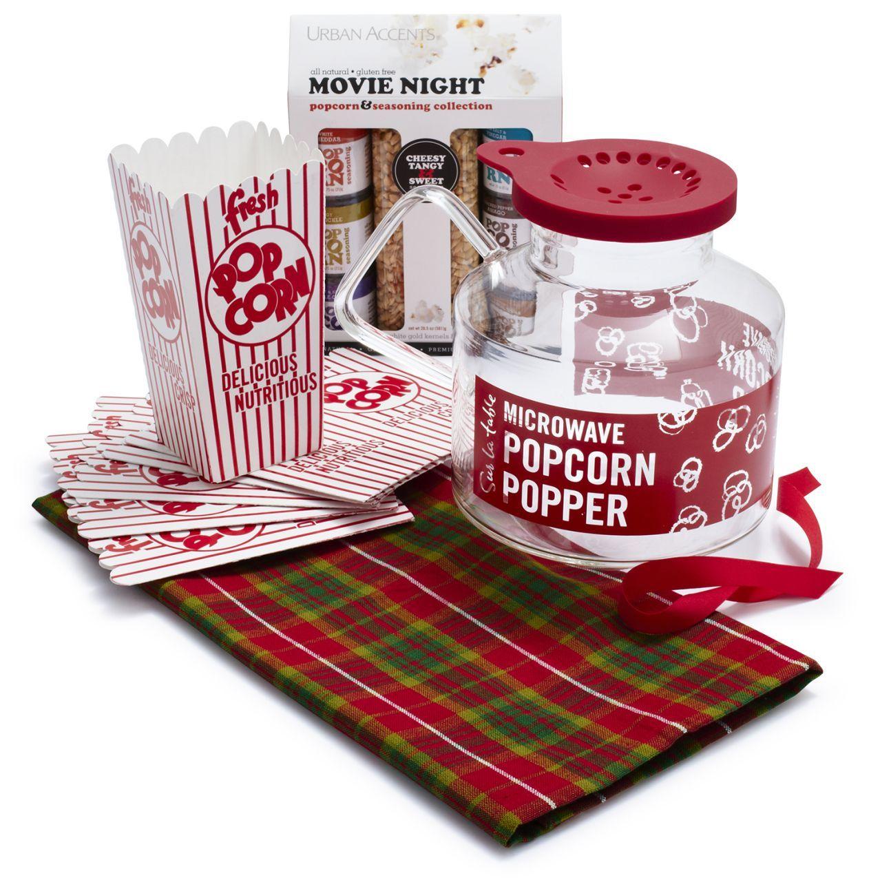 Gentil Popcorn Gift Set   Sur La Table