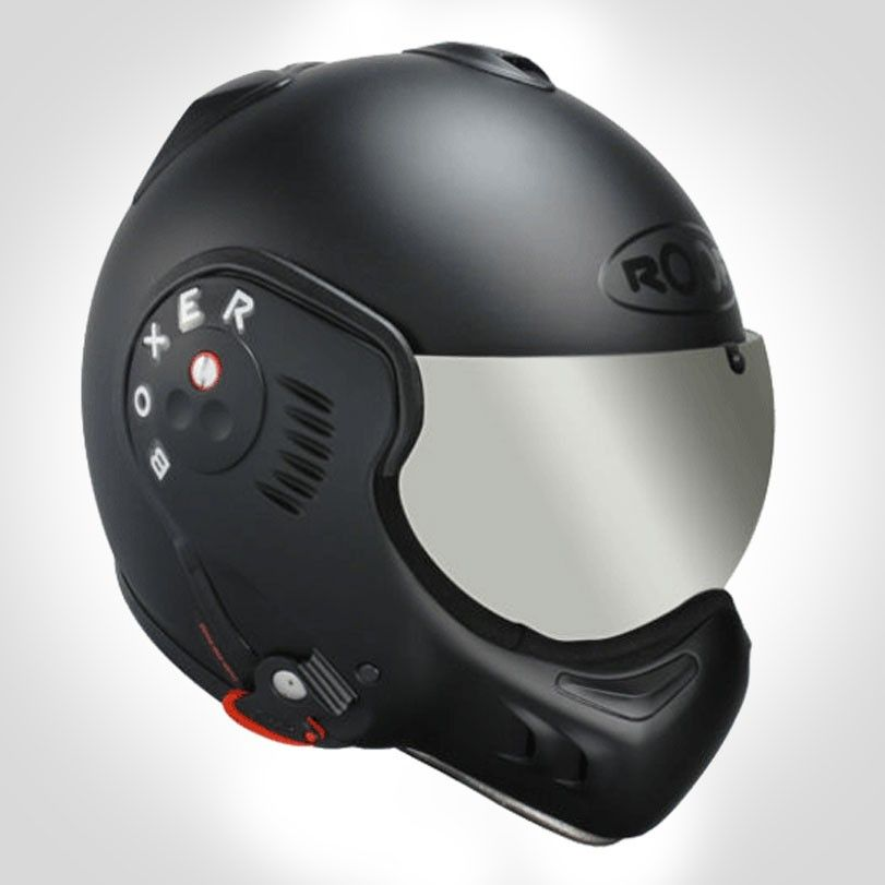 Roof Boxer V8 Black Shadow Urban Rider London Helmet Black Shadow Harley Davidson