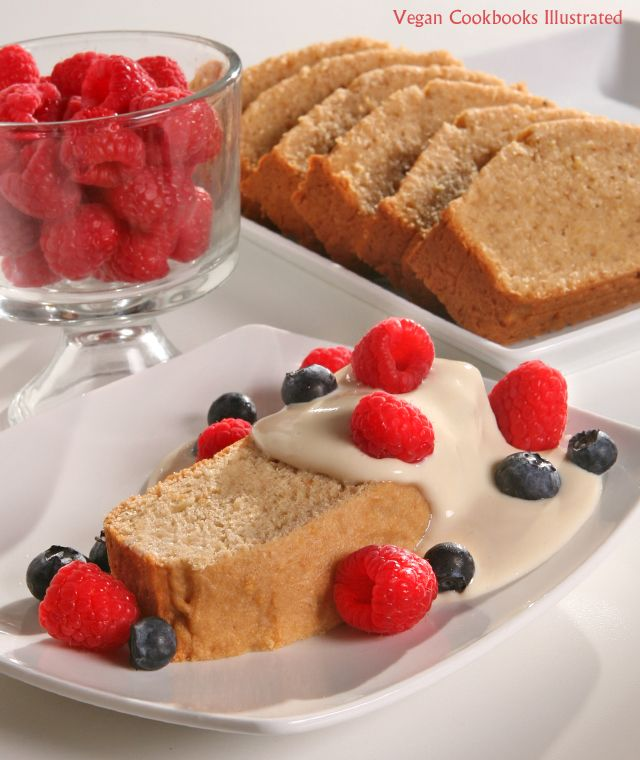Vegan Cookbooks Illustrated: Wholesome Vanilla Pound Cake
