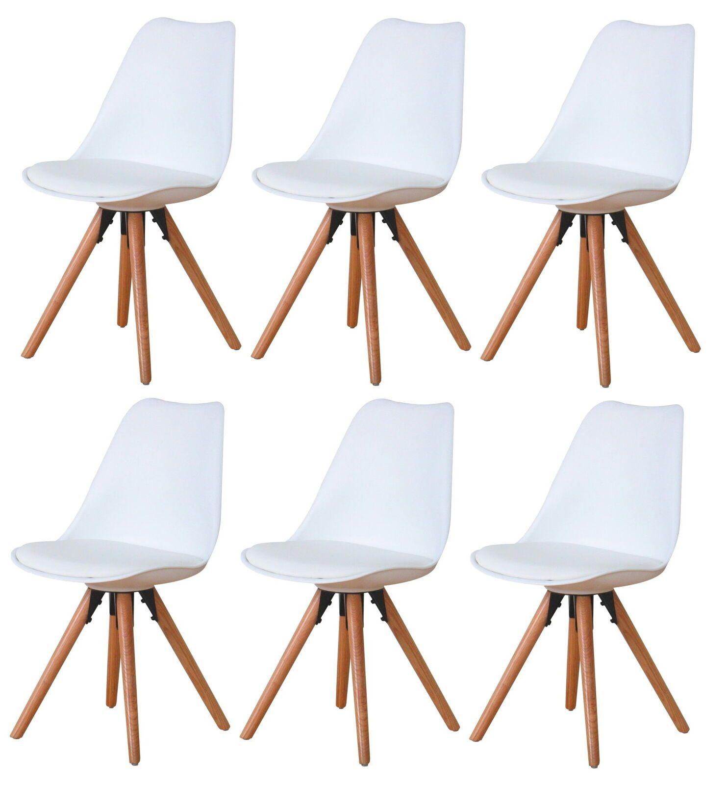 6er Set Esszimmerstuhl Nelle Kuchenstuhl Esszimmer Kuche Stuhl Stuhle Eiche Weiss In 2020 Esszimmerstuhl Stuhl Eiche Esstisch Holz
