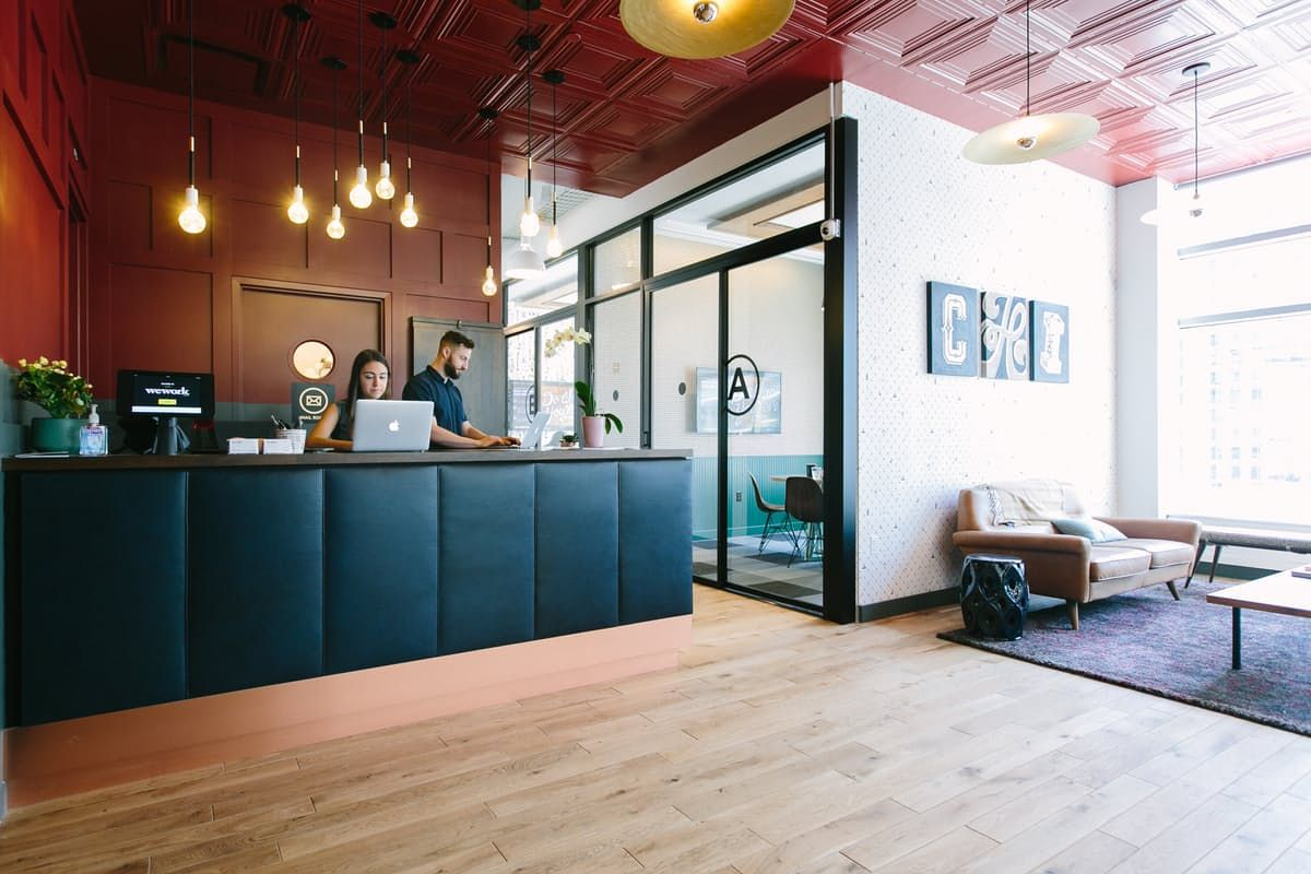 Shared office space in Chicago