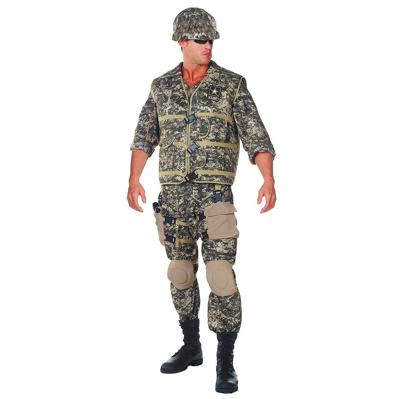 Men's Deluxe U.S. Army Ranger Costume Army costume, Plus