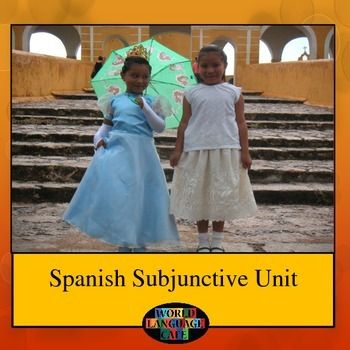 spanish present subjunctive worksheet pdf