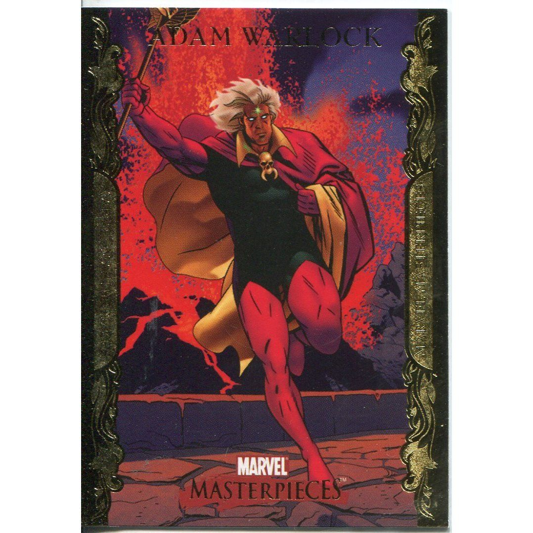 Amazon.com: Marvel Masterpieces 2007 Trading Cards Gold Bordered Parallel Base Card #3: Toys & Games