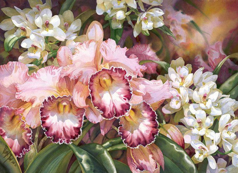 Beautiful Watercolor Paintings by Darryl Trott